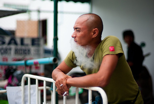 Smoke Beard | by sohiroshi
