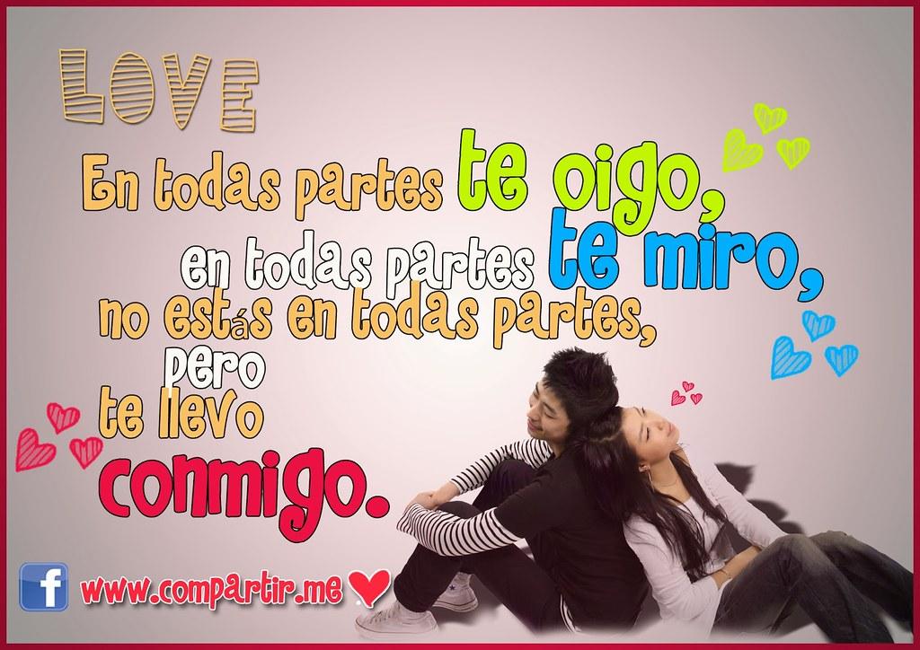 Frases De Amor Tarjeta Con Frase De Amor Para Dedicar O C