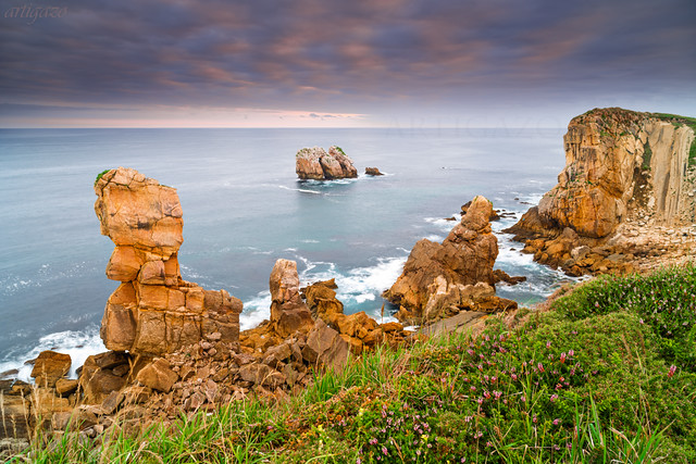 Walking along the cliff... Cantabrian door´s (IV)