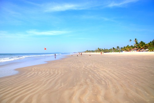 india beach day goa colva pwpartlycloudy