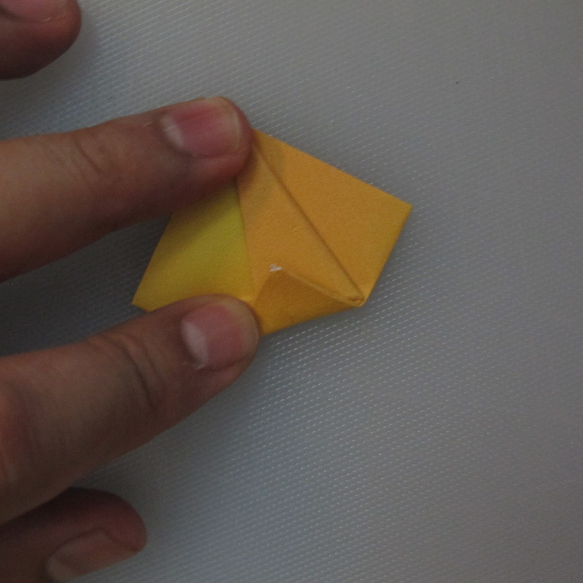 วิธีพับกระดาษเป็นดอกทิวลิป 011