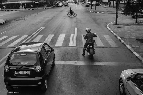 Street traffic in Marrakech, Morocco | by Phil Marion (176 million views - THANKS)