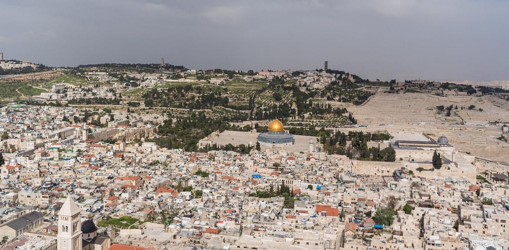 The Holy City of Jerusalem - Kite Above Jaffa Gate