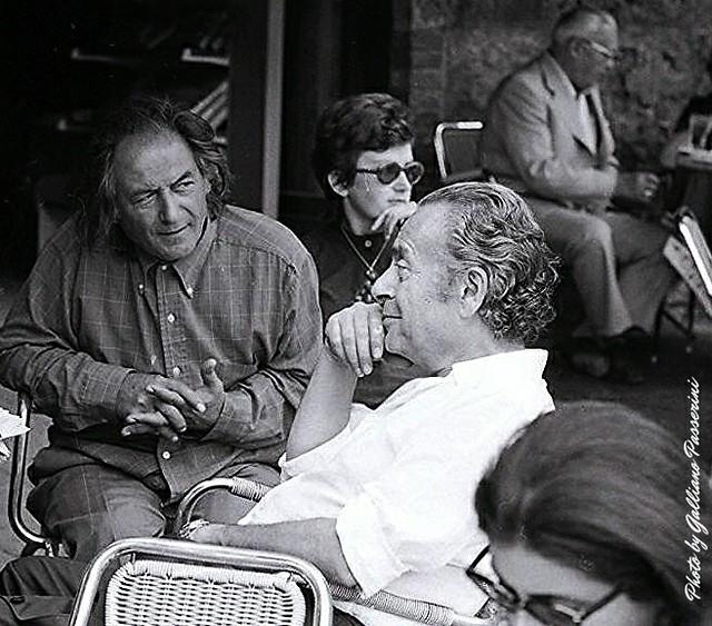 Renato Guttuso e Emilio Montagnani