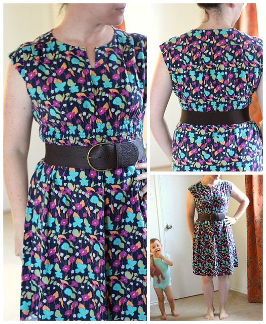 may 14 #mmmay14 floral dress collage