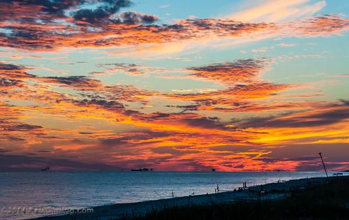 sunset fall beach gulfofmexico clouds landscape unitedstates alabama sunsets dailyphoto gulfshores baldwincounty gulfshoresalabama baldwincountyalabama d5000 pauldiming gulfshoresbaldwincounty