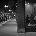 Chicago Coffee Shop in Winter by Bryan_Hayes