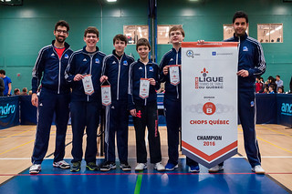 Club Chops de Québec - Champion Élite B