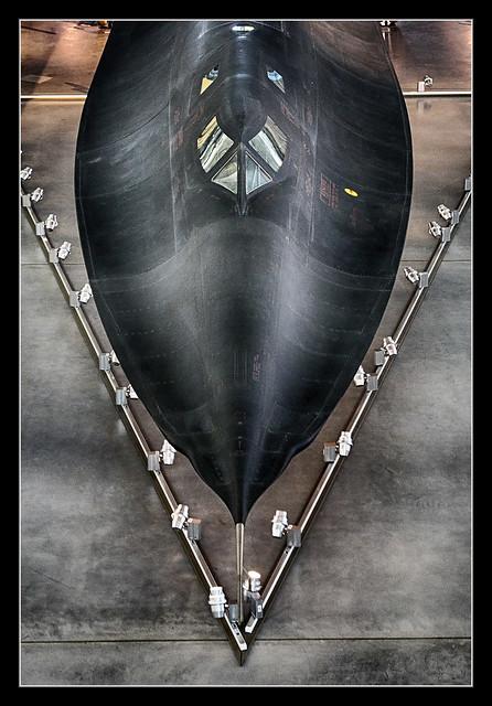 Chantilly VA - Steven F. Udvar-Hazy Center - Lockheed - SR-71A #61-7972 Blackbird 15