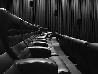 Cinema Empty Half   by Looking Glass
