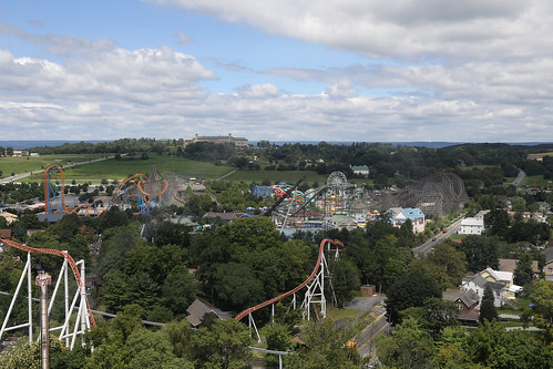 View of Hersheypark from the Kissing Tower | by Jim, the Photographer