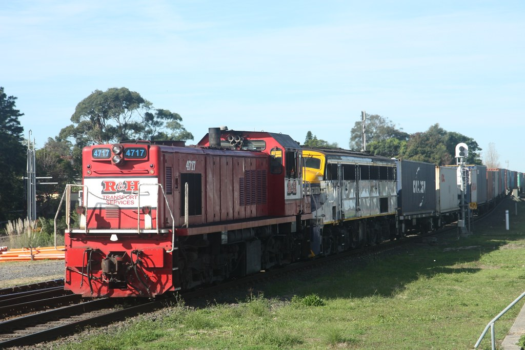4717 and 4477 at Marrickville, 30.5.2013 by John Ray