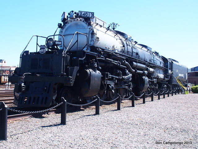Union Pacific Big Boy Number 4012 at Steamtown - Scranton PA