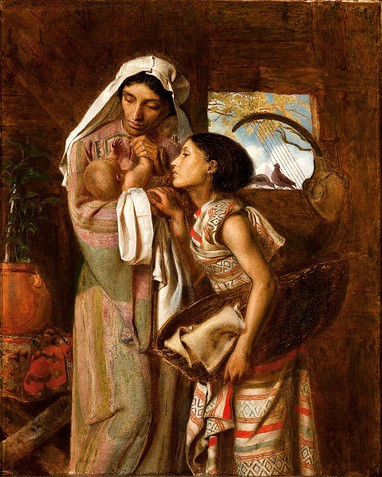 Mother of Moses (Fanny Eaton) by Simeon Solomon, 1860 | Flickr