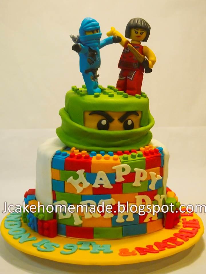Superb Ninjago Birthday Cake Happy 6Th Birthday Natalie And Happy Flickr Funny Birthday Cards Online Alyptdamsfinfo