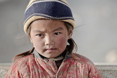 Tibetan Girl In Shegar Tibet Erik T 246 Rner Is A Tibet