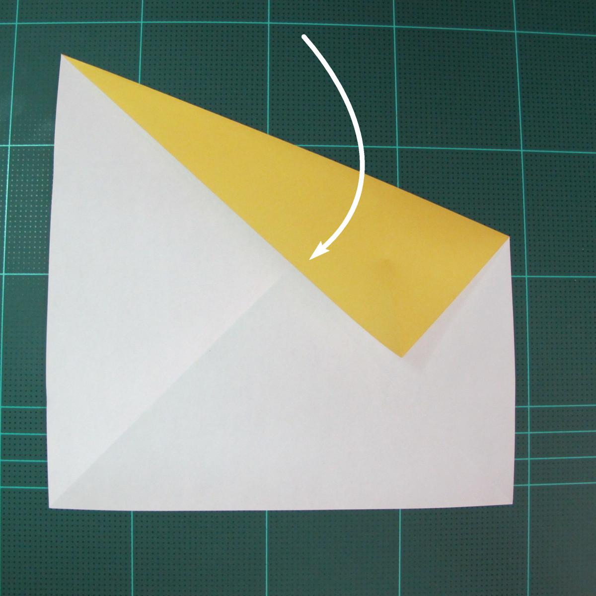 วิธีการพับกระดาษรูปม้าน้ำ (Origami Seahorse) 004