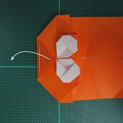 การพับกระดาษเป็นรูปปลาทอง (Origami Goldfish) 014