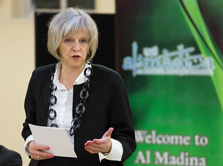 Theresa May visits Al Madina Mosque | by UK Home Office