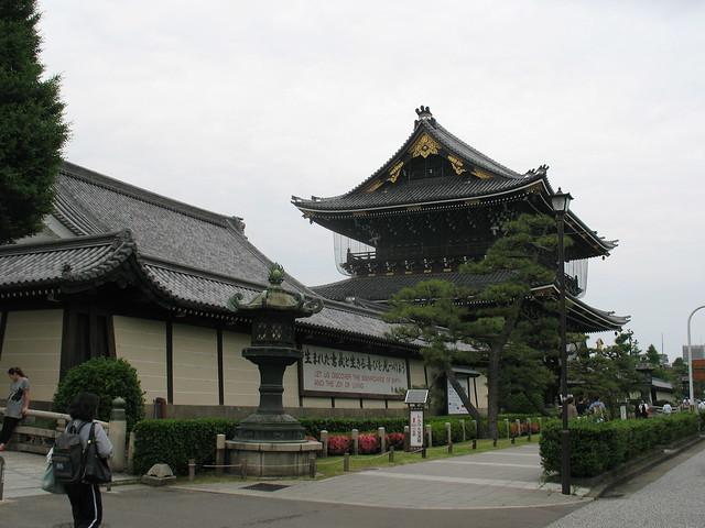 Kyoto, Higashi Hoganji Temple