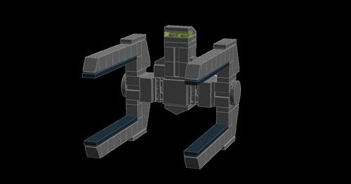 Skeleton Class Frigate 1   by Grass4hopper
