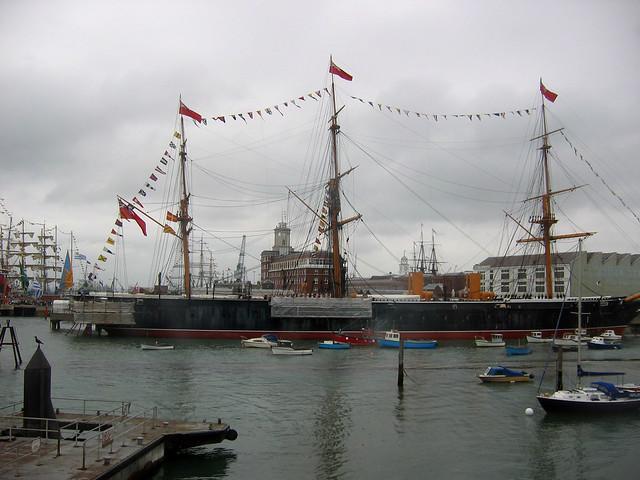 HMS Warrior at Portsmouth