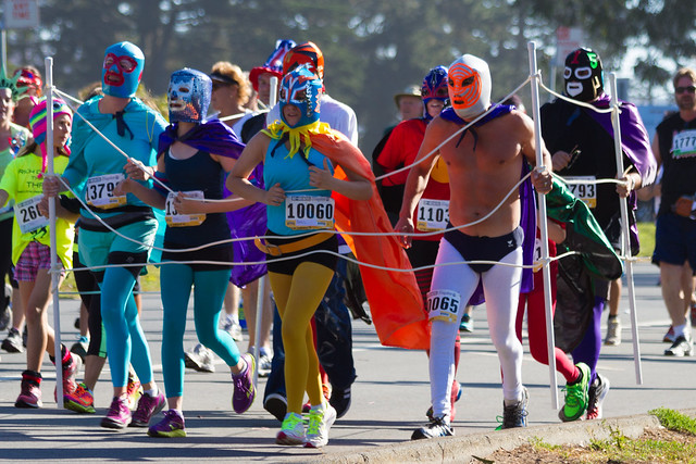 Bay To Breakers 2013: Lucha Libre