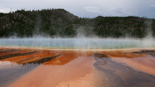 Grand Prismatic Spring at Yellowstone | by samirluther