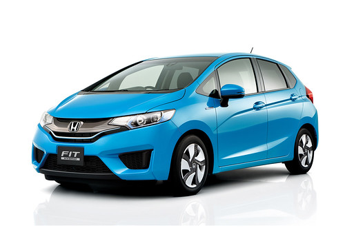 2015 Honda Fit Hybrid Japanese Model (5) - SMADEMEDIA.COM MediaGalleria Photo