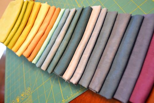 Latest Hand Dyed Fabrics.   by Jayne ~ Twiggy & Opal
