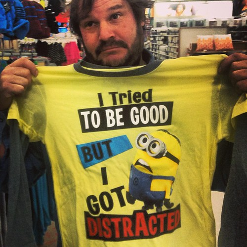 Minion T-Shirt at Target, Perfect for Scringy who always gets distracted! | by JeepersMedia