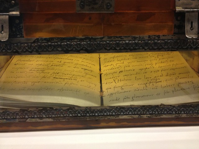 Museo del Patriarca. A Manuscript by Sir Thomas More