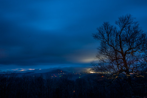 mountains weather clouds northcarolina blueridgeparkway aftersunset