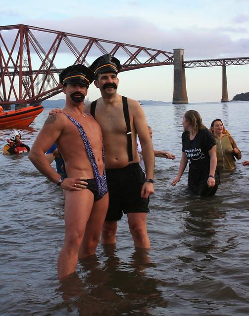 Edinburgh Loony Dook 2014