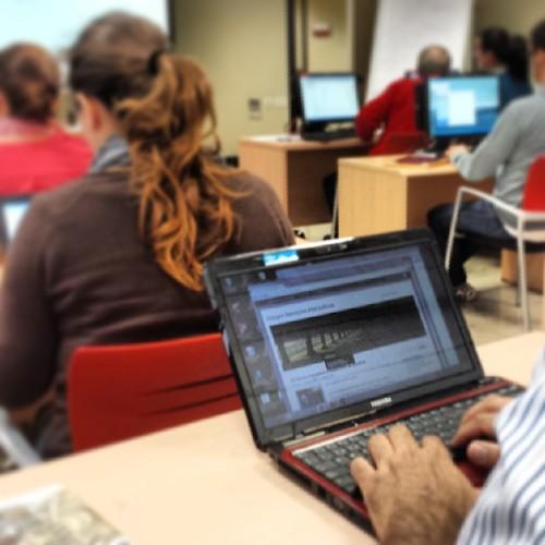 Trabajando los #themes en el curso de #wordpress de la @camaratenerife | by Pedro Baez Diaz @pedrobaezdiaz