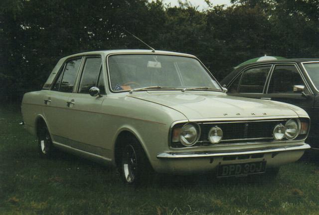 Ford Cortina 1600E - DPD 30J