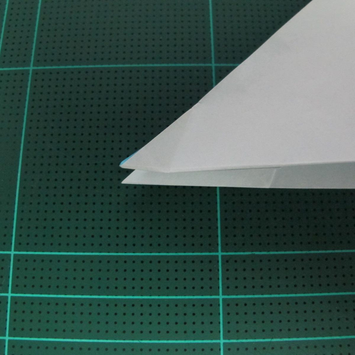 การพับกระดาษเป็นรูปตัวเม่นแคระ (Origami Hedgehog) 027