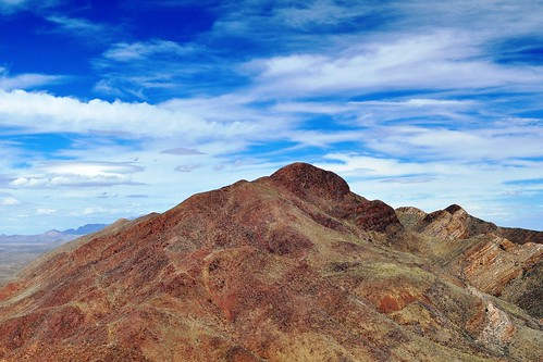 mountains rock franklin day texas cloudy el mammoth paso partly