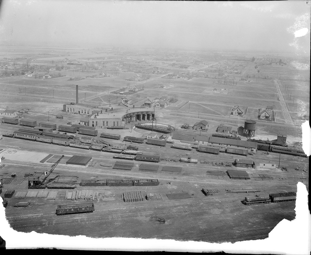Chicago & Illinois Midland - Springfield Yard
