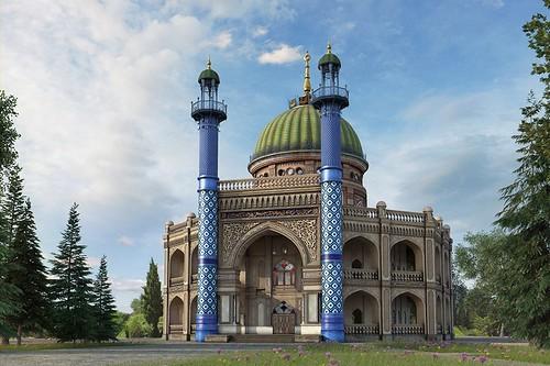 Restored Ashgabat