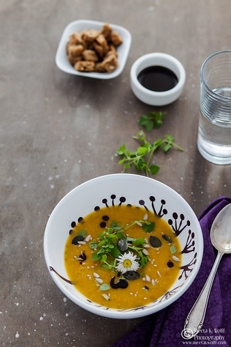 Pumpkin Persimmon Soup (0033) | by Meeta Wolff @ What's For Lunch, Honey?