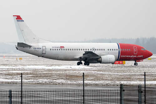 Norwegian, LN-KKW, Boeing 737-3K9 | by Anna Zvereva