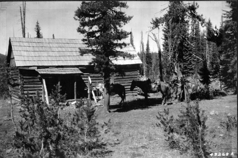 Horse Lake Guard Station, 1920