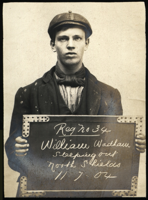 William Wadham, arrested for sleeping rough