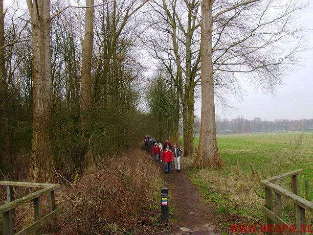 WSV Wandeltocht    Huizen NH.     23-02-2008   20km (10)