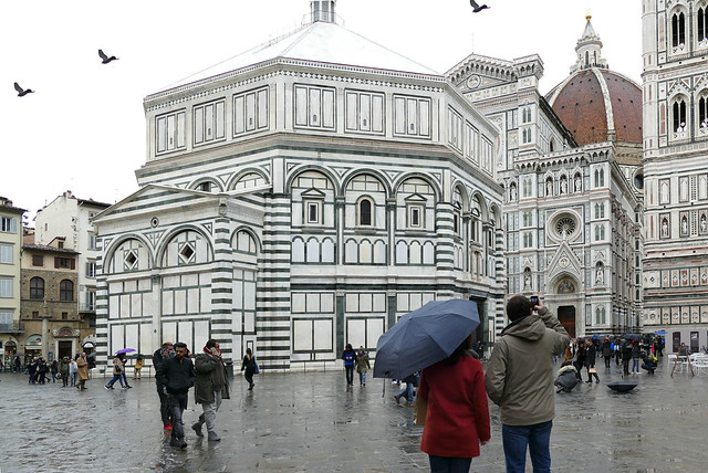 February in Florence ...