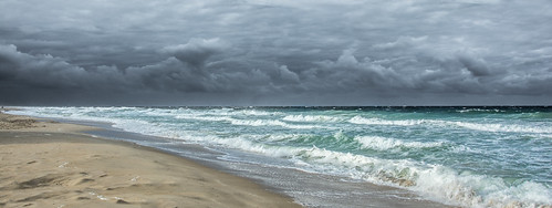 ocean sky storm beach clouds nc sand nikon waves pano northcarolina panoramic nagshead outerbanks obx hallock southnagshead d7100 nikon7100 davehallock