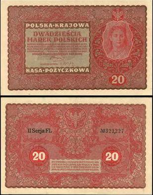 20 Mariek Poľsko 1919, P26