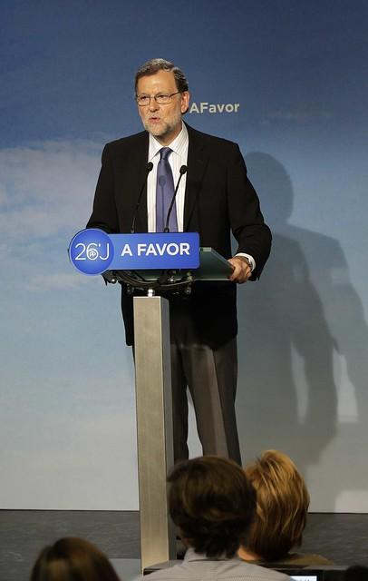 Mariano Rajoy valora los resultados del 26J