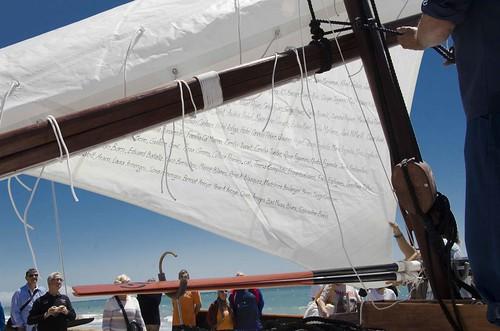 Ceremònia de Bateig de la Barca CARLOS BARRAL (LA BARRALA) 26/5/13